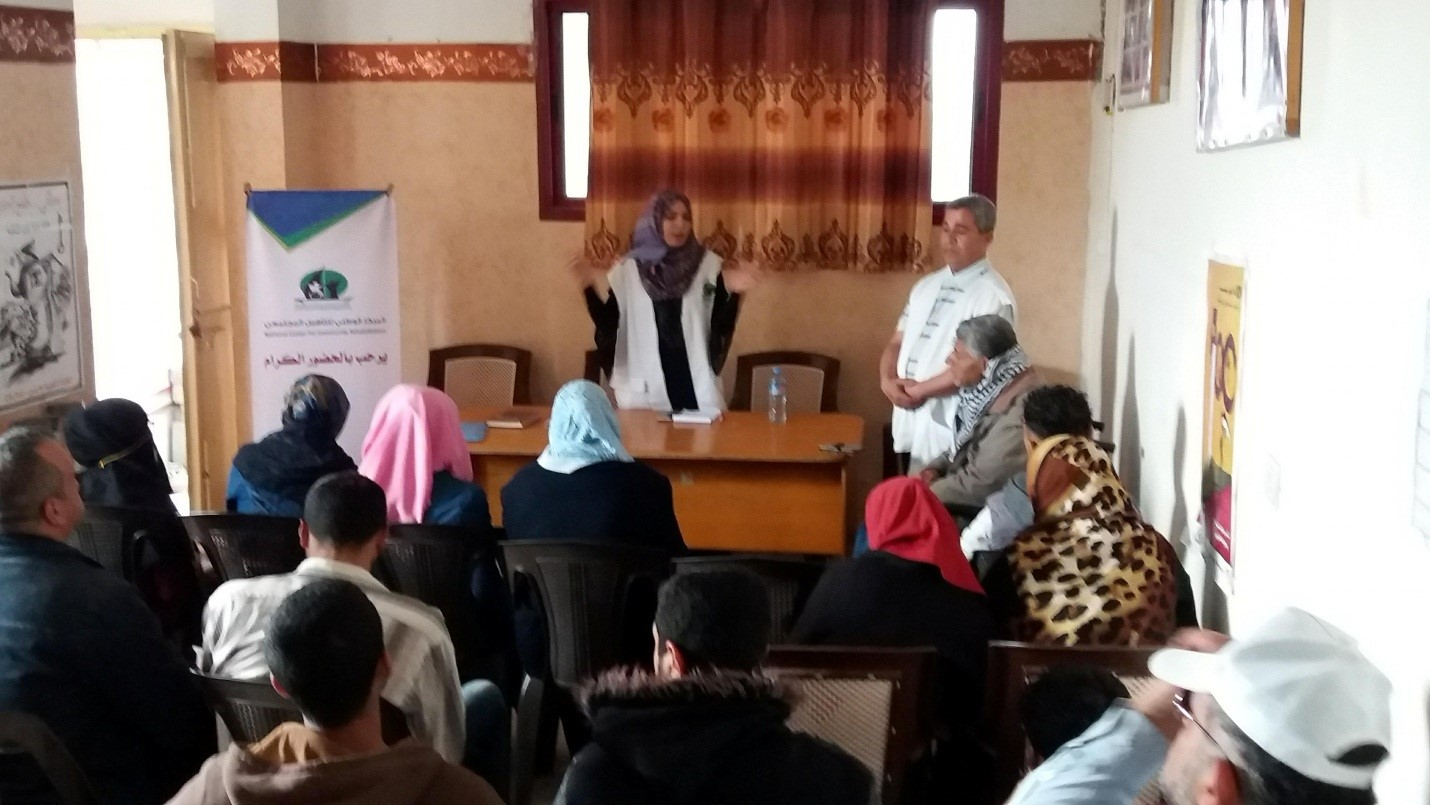 NCCR CONDUCTS AN AWARENESS COUNSELING SESSION FOR PEOPLE WITH DISABILITIES AT THE HEADQUARTERS OF THE GENERAL FEDERATION OF DISABLED PERSONS ON THE PREVENTION OF BLOOD PRESSURE AND DIABETES