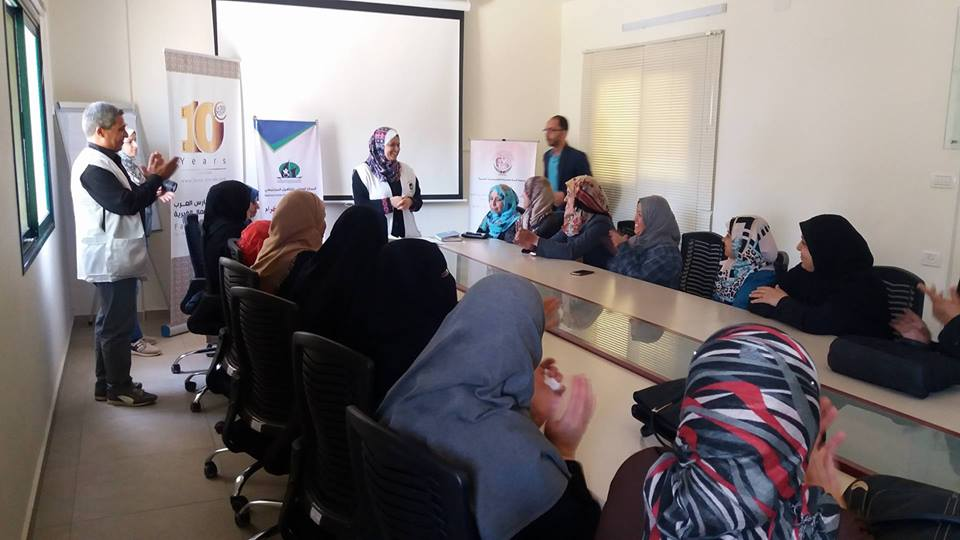 THE NATIONAL CENTER HELD AN AWARENESS MEETING AT THE ARAB KNIGHTS FOUNDATION