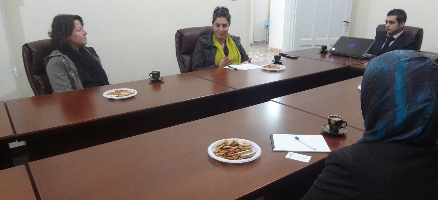 THE NATIONAL CENTER FOR COMMUNITY REHABILITATION FOUNDATION RECEIVES A DELEGATION FROM MAP UK