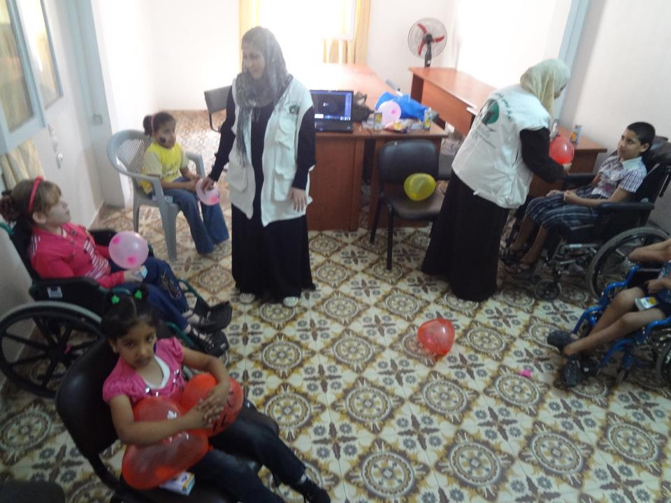 PSYCHOLOGICAL DEBRIEFING FOR CHILDREN WITH DISABILITIES USING TOYS
