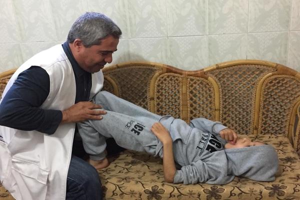 HET VERHAAL VAN YEHIYA – GEHANDICAPT IN GAZA